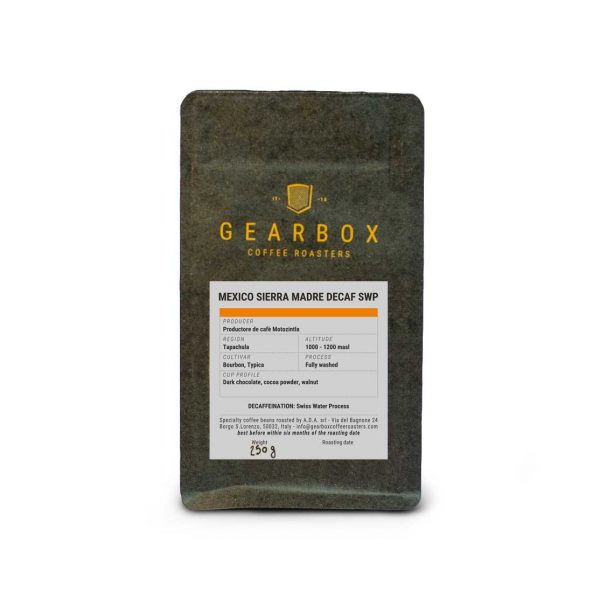 Mexico Sierra Madre Decaf swp